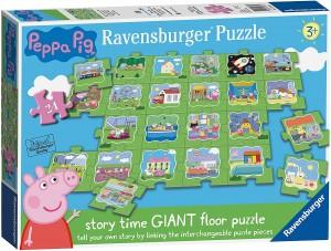 Juguetes y cuentos de Peppa Pig | Puzzle gigante para suelo | A partir de 3 años