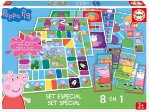 Juguetes y cuentos de Peppa Pig | Set especial de juegos 8 en 1 | A partir de 3 años