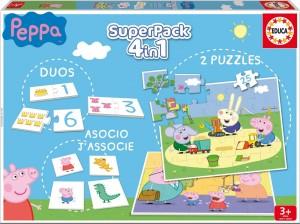 Juguetes y cuentos de Peppa Pig | SuperPack 4 en 1 | De 3 a 5 años