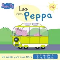 Juguetes y cuentos de Peppa Pig | Un cuento para cada letra: c, q, g, gu, r (sonido suave), b, v, z, ce-ci | A partir de 4 años | 48 páginas