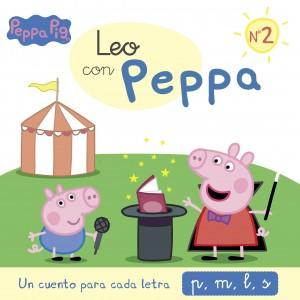 Juguetes y cuentos de Peppa Pig | Un cuento para cada letra: p, m, l, s | A partir de 4 años | 48 páginas