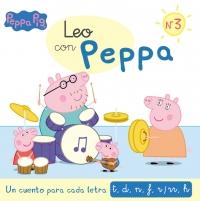 Juguetes y cuentos de Peppa Pig | Un cuento para cada letra: t, d, n, f, r/rr, h | A partir de 4 años | 48 páginas