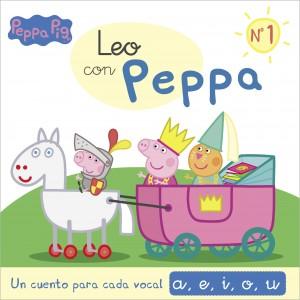 Juguetes y cuentos de Peppa Pig | Un cuento para cada vocal: a, e, i, o, u | A partir de 4 años | 48 páginas