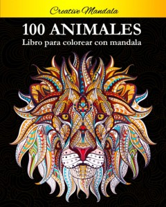 Libros de mandalas para adultos | 100 animales