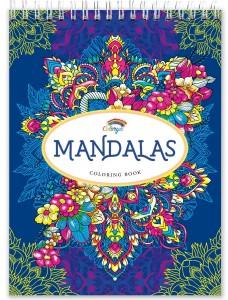 Libros de mandalas para adultos | Libro de mandalas en espiral