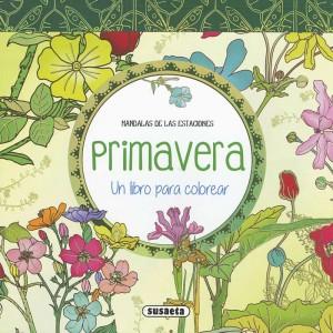 Libros de mandalas para adultos | Mandalas de las estaciones. Primavera