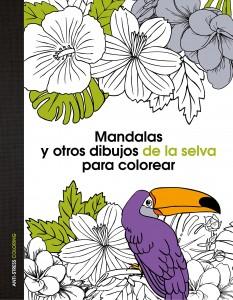 Libros de mandalas para adultos | Mandalas y otros dibujos de la selva para colorear