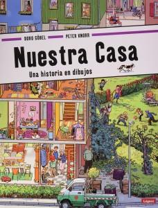 'Mi familia', cuento para niños | Nuestra casa: Una historia en dibujos | A partir de 2 años