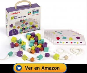 Motricidad fina | Actividades, juegos y juguetes | Juego de matemáticas para enlazar | A partir de 3 años