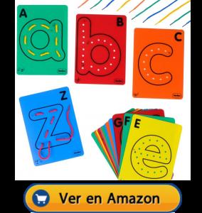 Motricidad fina | Actividades, juegos y juguetes | Todas las letras para hilar | A partir de 3 años