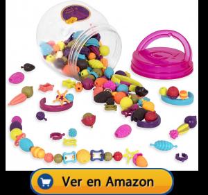 Motricidad fina | Actividades, juegos y juguetes | Beauty Pops. 150 piezas multicolor | A partir de 5 años