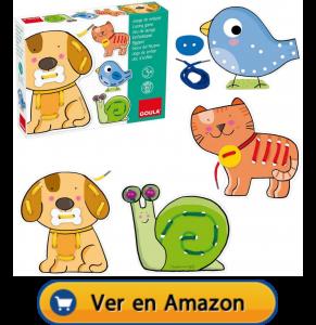 Motricidad fina | Actividades, juegos y juguetes | Juego de enlazar animales | A partir de 3 años