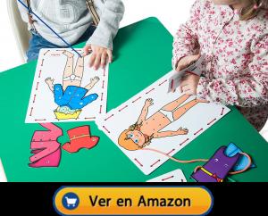Motricidad fina | Actividades, juegos y juguetes | Muñecos para hilar | A partir de 3 años