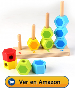 Motricidad fina | Actividades, juegos y juguetes | Cuenta y apila | A partir de 1 año