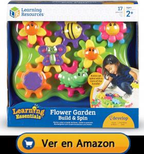 Motricidad fina | Actividades, juegos y juguetes | Jardín que gira | A partir de 2 años