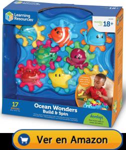 Motricidad fina | Actividades, juegos y juguetes | Maravillas del océano que giran | A partir de 18 meses