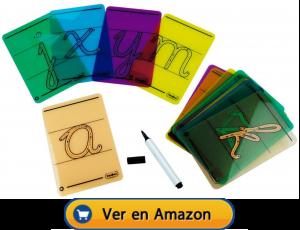 Motricidad fina | Actividades, juegos y juguetes | Letras cursivas para trazar | A partir de 4 años