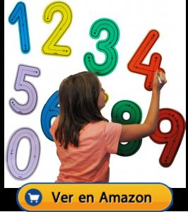 Motricidad fina | Actividades, juegos y juguetes | Números para trazar | A partir de 3 años