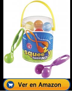Motricidad fina | Actividades, juegos y juguetes | Pinzas Squeezy Tweezers | A partir de 3 años