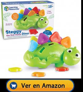 Motricidad fina | Actividades, juegos y juguetes | Dinosaurio de motricidad | A partir de 18 meses