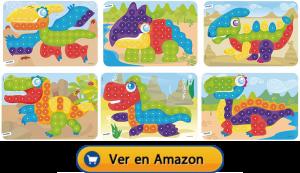 Motricidad fina | Actividades, juegos y juguetes | Láminas para maletín de mosaicos de Ø 20 mm | A partir de 3 años