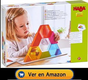 Motricidad fina | Actividades, juegos y juguetes | Juego de apilar cristales de colores | A partir de 3 años