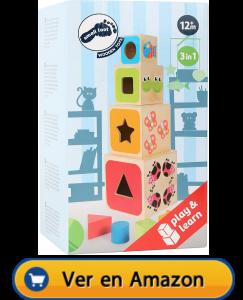 Motricidad fina | Actividades, juegos y juguetes | Cubos para apilar | A partir de 1 año