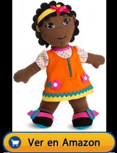Motricidad fina | Actividades, juegos y juguetes | Muñeca blandita abroches diversidad africana | A partir de 2 años