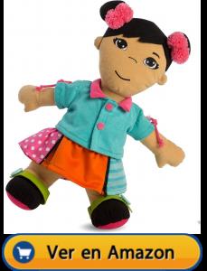 Motricidad fina | Actividades, juegos y juguetes | Muñeca blandita abroches diversidad asiática | A partir de 2 años
