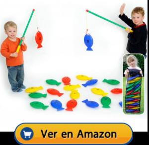 Motricidad fina | Actividades, juegos y juguetes | Juego de pesca | A partir de 2 años