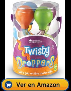 Motricidad fina | Actividades, juegos y juguetes | Twisty Droppers | A partir de 2 años