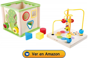 Motricidad fina | Actividades, juegos y juguetes | Cubo de motricidad Insectos | A partir de 1 año