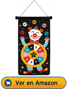 Motricidad fina | Actividades, juegos y juguetes | Juego de dardos magnéticos circo | A partir de 4 años