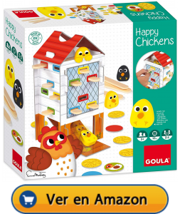 Motricidad fina | Actividades, juegos y juguetes | Happy chickens | A partir de 3 años