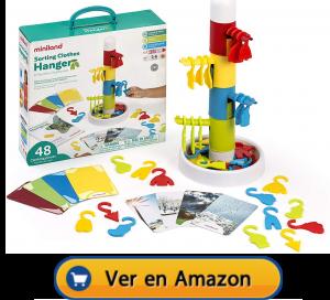 Motricidad fina | Actividades, juegos y juguetes | Sorting Clothes Hanger | A partir de 3 años