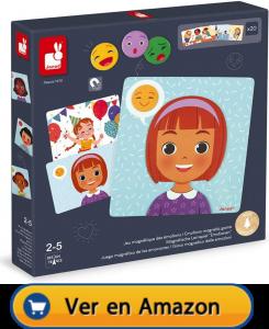 Motricidad fina | Actividades, juegos y juguetes | Juego magnético de las emociones | A partir de 2 años