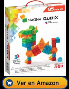 Motricidad fina | Actividades, juegos y juguetes | Magna Qubix. De 85 piezas | A partir de 3 años