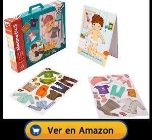 Motricidad fina | Actividades, juegos y juguetes | Magnetics vestir niño/a | A partir de 3 años