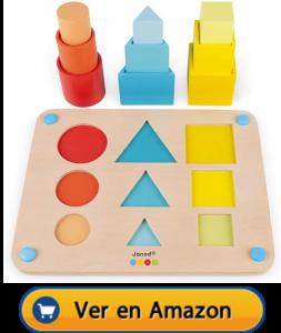Motricidad fina | Actividades, juegos y juguetes | Los volúmenes | A partir de 18 meses
