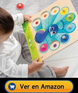 Motricidad fina | Actividades, juegos y juguetes | Puzle pavo real | A partir de 2 años