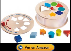 Motricidad fina | Actividades, juegos y juguetes | Caja clasificadora de carrusel arcoíris | A partir de 2 años