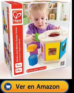 Motricidad fina | Actividades, juegos y juguetes | Caja con formas | A partir de 1 año