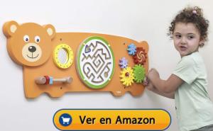 Motricidad fina | Actividades, juegos y juguetes | Juguete de pared | A partir de 1 año