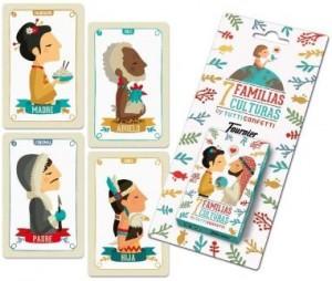 Juegos de cartas para niños   Familias de 7 culturas   A partir de 3 años