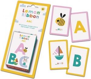 Juegos de cartas para niños   Lemon Ribbon ABC   A partir de 3 años