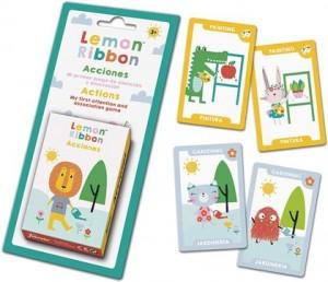 Juegos de cartas para niños   Lemon Ribbon Acciones   A partir de 3 años