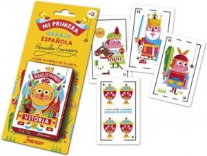 Juegos de cartas para niños   Mi primera baraja española   A partir de 3 años