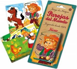 Juegos de cartas para niños   Parejas del mundo  A partir de 3 años