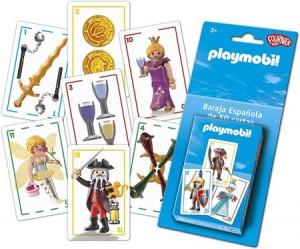 Juegos de cartas para niños   Playmobil. Baraja española   A partir de 3 años