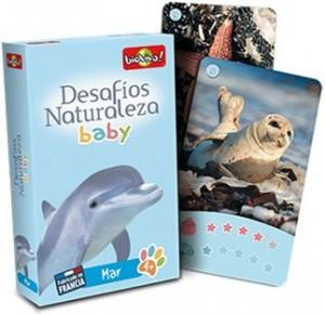 Juegos de cartas para niños   Desafíos Naturaleza. Baby Mar   A partir de 4 años